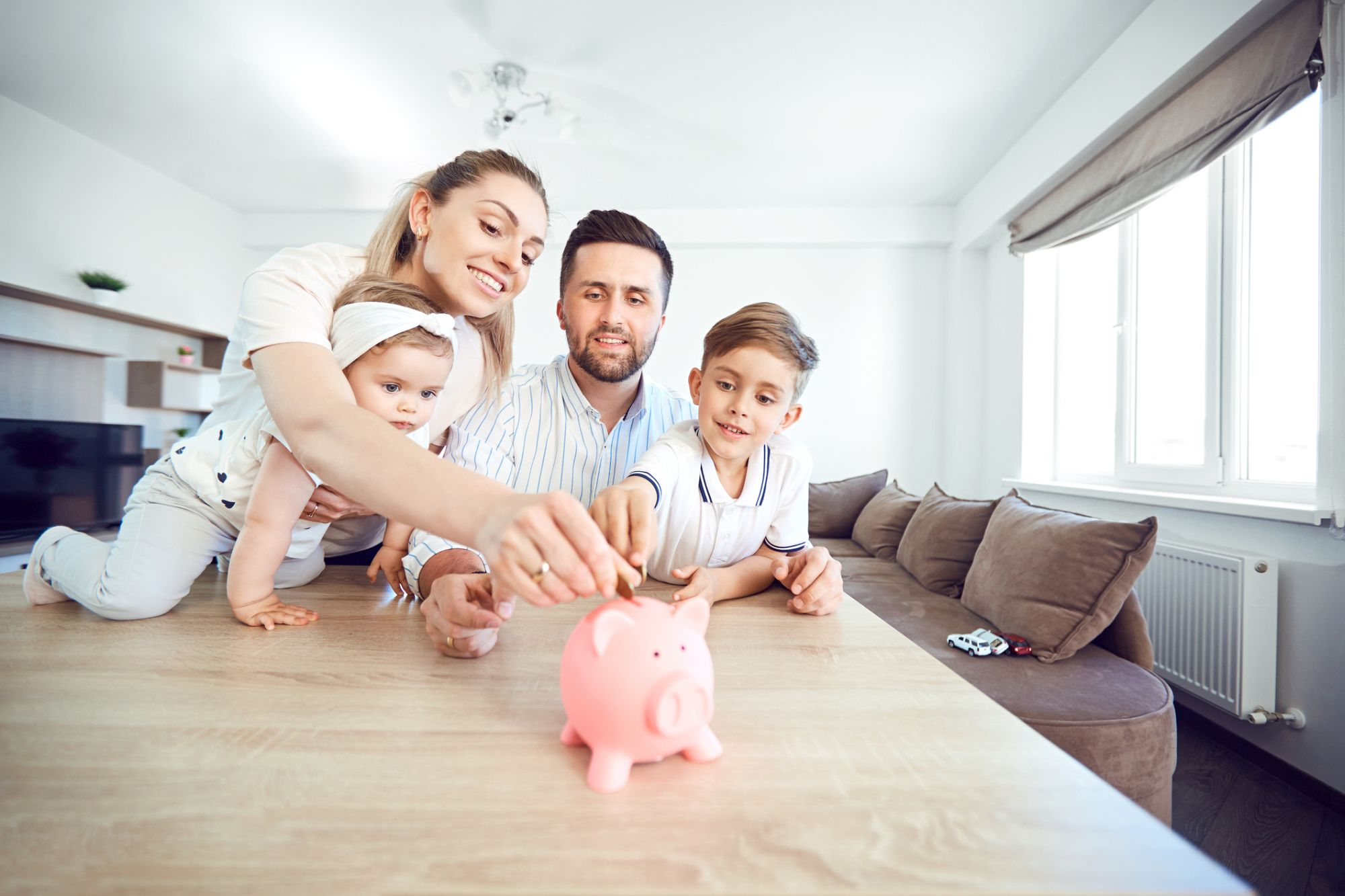 How I am Teaching My 4-year Old About Money | EP Wealth Advisors