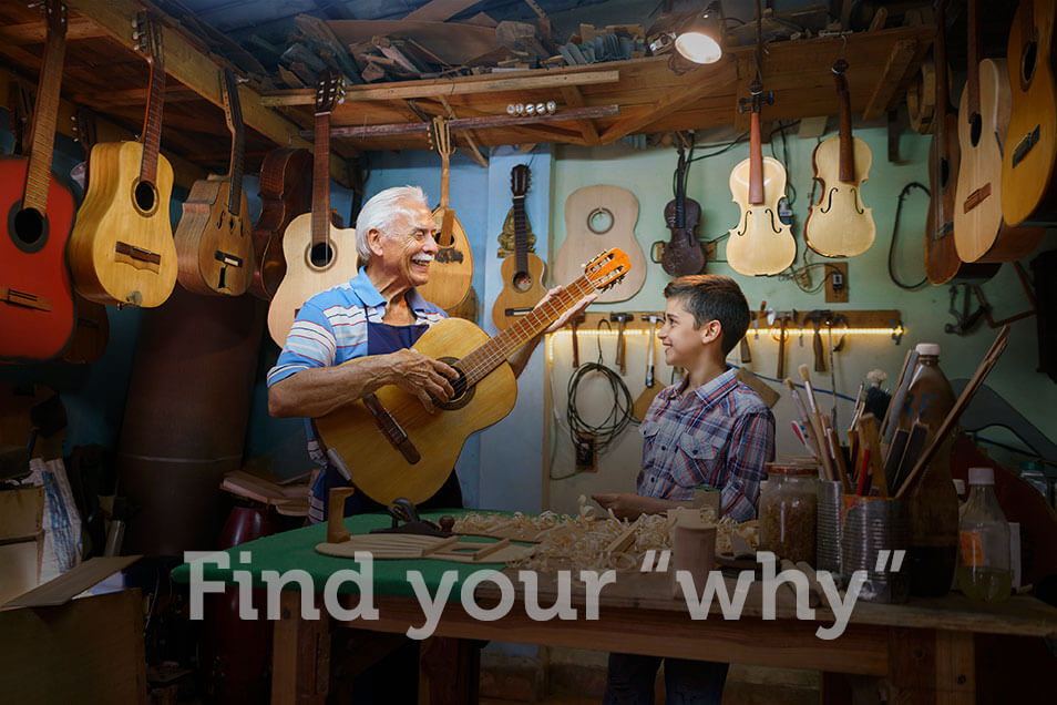 """Find your """"why"""""""